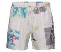 Pf18 May William All Over Printed Swim Shorts