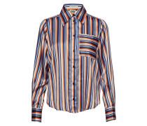 Nathalie Shirt Orange Stripe