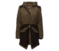 Winter Parka With Detachable Hood