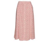 Drapey Midi Skirt Knielanges Kleid Pink CALVIN KLEIN JEANS