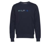 Multi Color Logo Sweatshirt Langärmliger Pullover Blau TOMMY HILFIGER