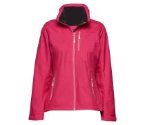 W Crew Hooded Midlayer Jacket Gefütterte Jacke Pink HELLY HANSEN