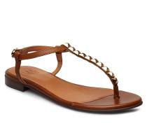 Shoes 8623 Flache Sandalen Braun