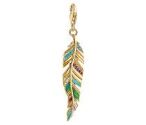 Charm Pendant Ethnic Feather