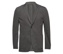 Unconstructed Jersey Blazer Blazer Jackett Grau CALVIN KLEIN