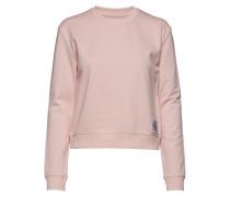 Boxy Cn Monogram Bad Langärmliger Pullover Pink CALVIN KLEIN JEANS