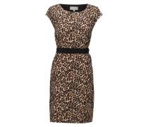Saffron Dress Kurzes Kleid Braun INWEAR