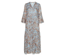 miliva Ankle Dress - Da Maxikleid Partykleid Blau