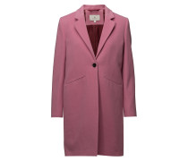 G2. Classic Tailored Coat Wollmantel Mantel Pink