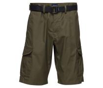 O2.Tp Relaxed Belted Utility Shorts Cargoshorts Grün GANT