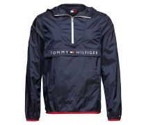 Ultra Light Packable Anorak Dünne Jacke Blau TOMMY HILFIGER
