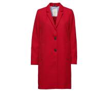 Coats Woven Dünner Mantel Rot ESPRIT CASUAL