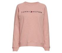 Track Top Ls Langärmliger Pullover Pink TOMMY HILFIGER