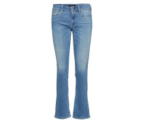 Luz Bootcut Jeans Boot Cut Blau REPLAY