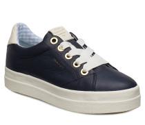 Aurora Low Schnürschuhe Niedrige Sneaker Blau