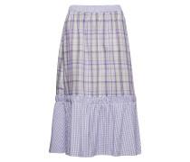 Nita Skirt Knielanges Kleid Lila INWEAR