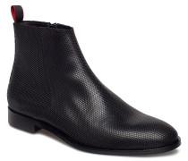 Smart_zipb_ltpr Stiefelette Chelsea Boot Schwarz HUGO