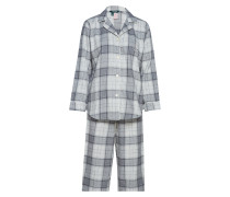 Lrl Brush.Twill Notch Collar Pj Set Fold