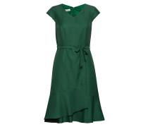 Dress Woven Fabric Kurzes Kleid Grün GERRY WEBER