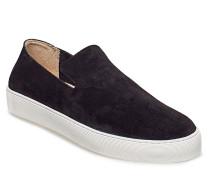 Doric Loafer Suede Sneaker Schwarz