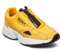 Falcon Zip W Niedrige Sneaker Gelb