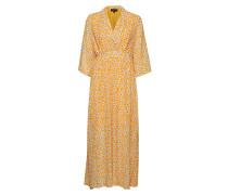 Slffleura Cecilie Ls Aop Ankle Dress B