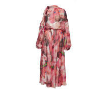Dress Maxikleid Partykleid Pink