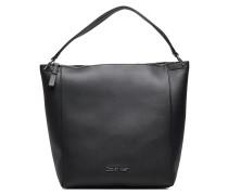 Strap Hobo Bags Top Handle Bags Schwarz
