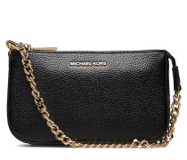 Pouches & Clutches Md Chain Pouchette Bags Small Shoulder Bags/crossbody Bags Schwarz