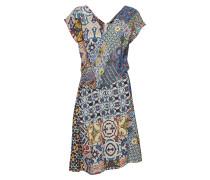 Vest Saya Kurzes Kleid Bunt/gemustert DESIGUAL