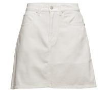High Rise Mini Skirt Stripe Kurzes Kleid Weiß CALVIN KLEIN JEANS