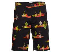Chino Short Bermudashorts Shorts Schwarz WRANGLER