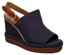 San Diego Wedge Sandal Sandale Mit Absatz Espadrilles Blau GANT