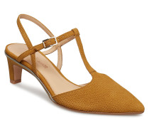Ellis Lola Absatzschuhe Pumps Sling Backs Gold CLARKS