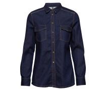 Denimhemd Langärmliges Hemd Blau