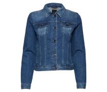 Woman Denim Blouson Jacket Jeansjacke Denimjacke Blau ARMANI EXCHANGE