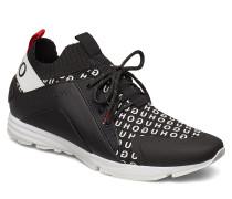 Hybrid_runn_knlg Niedrige Sneaker Schwarz HUGO