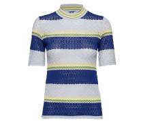 Rho Tshirt 10978 Tshirts & Tops Knitted T-Hemd/tops Blau