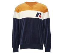 Ru Crew Neck Sweatshirt With 'R' Applique