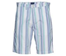 O2. Stripe-Check Bermuda Short