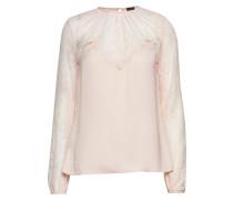 Ls Dejka Top Bluse Langärmlig Pink