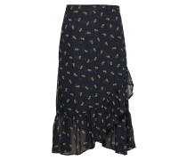 Ziri Skirt Knielanges Kleid Schwarz INWEAR