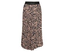 Sienna 645 Zebra Doeskin Knielanges Kleid Bunt/gemustert FIVEUNITS