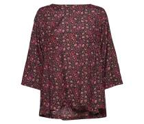 Bai Top Bluse Langärmlig Rot