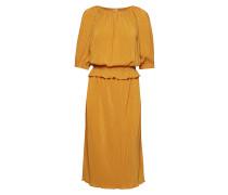 Kacee Dress Kleid Knielang Gelb INWEAR