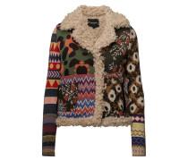 Jers Sparrow Wolljacke Jacke Grün DESIGUAL