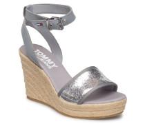 Luna 19 Sandale Mit Absatz Espadrilles Silber TOMMY HILFIGER