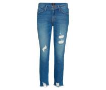 Elly Straight Jeans Hose Mit Geradem Bein Blau LEE JEANS