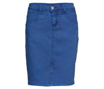 Amalie Skirt - Knee Lgd. Kurzes Kleid Blau CREAM