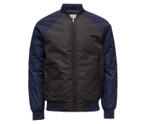 College Inspired Bomberjacke In Nylon Twill Quality